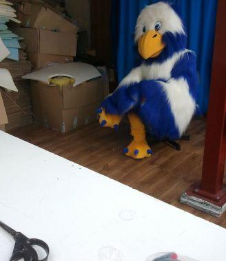 Ornitologiczne stroje reklamowe Elabika, czyli Orzeł biało-niebieski