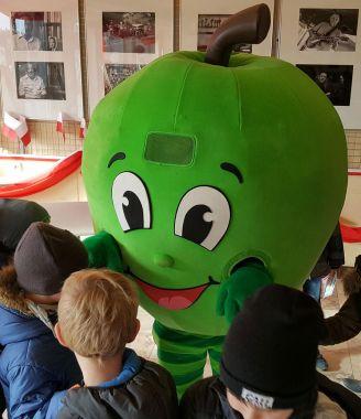 Stroje reklamowe nie tylko dla sadowników, czyli zielone Jabłko