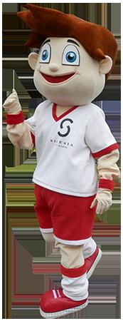 Elabika profesjonalna maskotka drużyny Chłopiec Silesia City Center